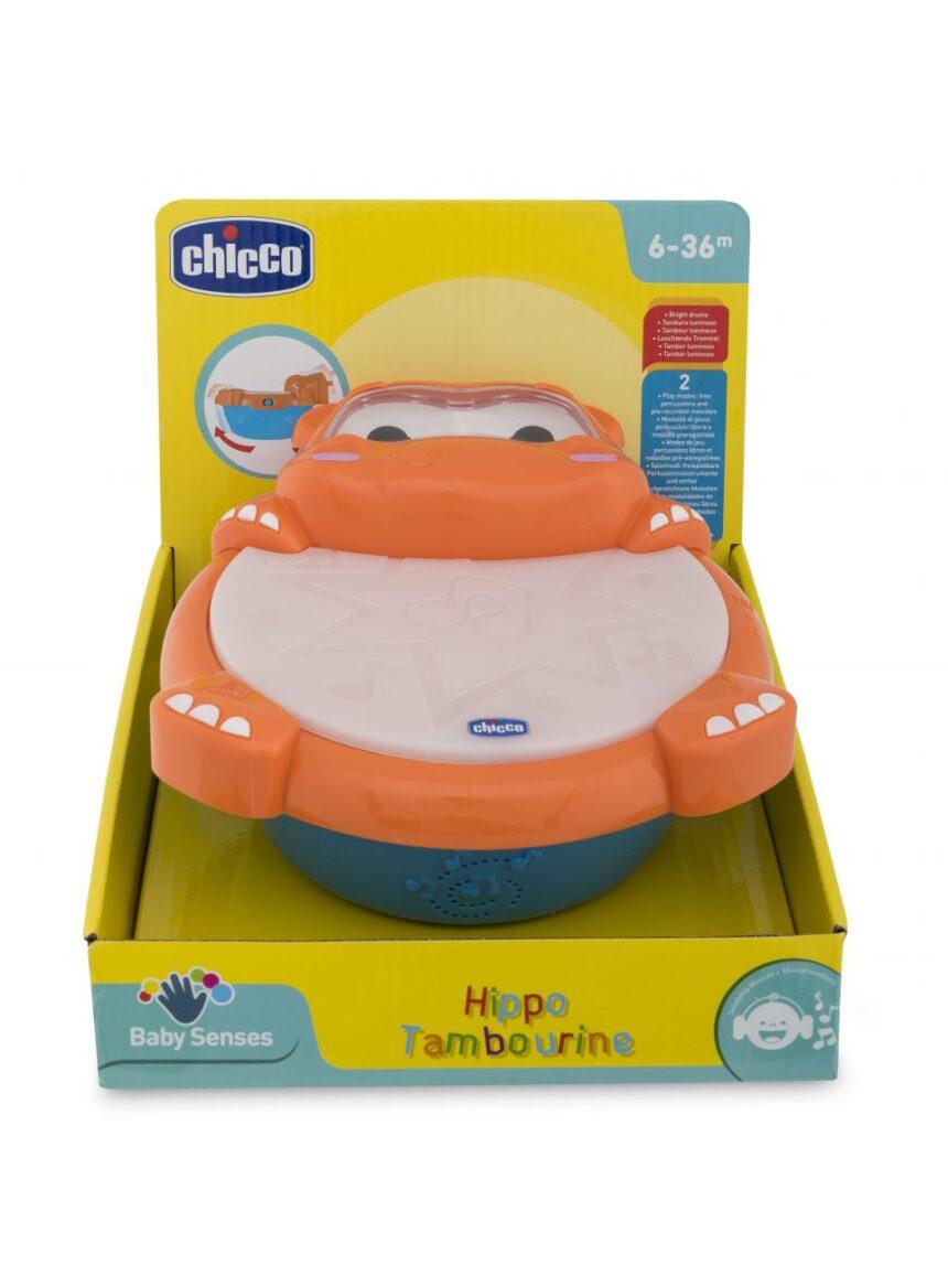 Chicco - tambor musical hipopótamo - Chicco