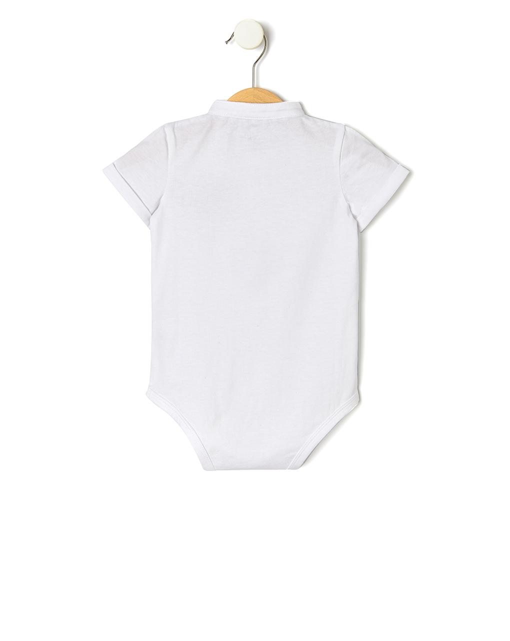 Body de algodão elegante - Prénatal