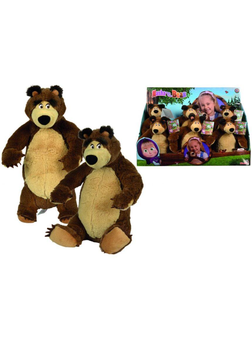 Masha e o urso - urso masha de pelúcia de 25 cm - Masha & Orso