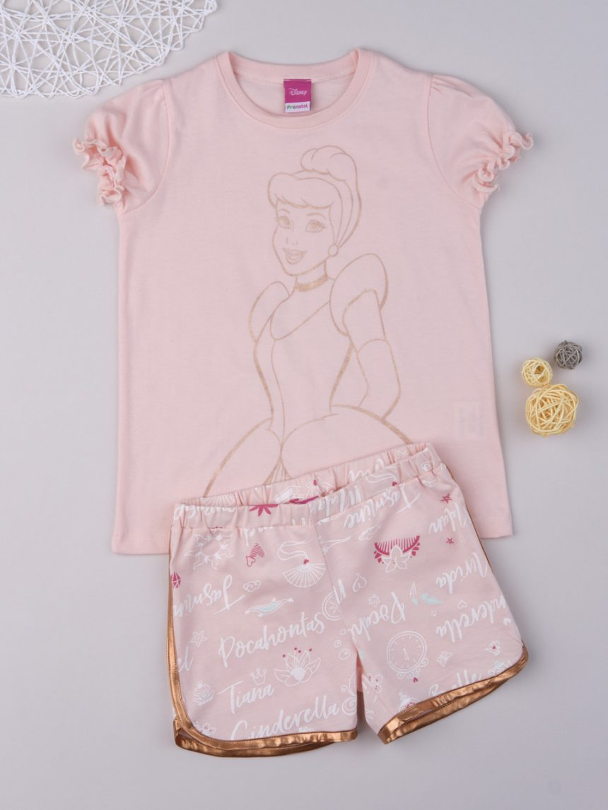 """Pijama de menina """"cinderela"""" - Prénatal"""