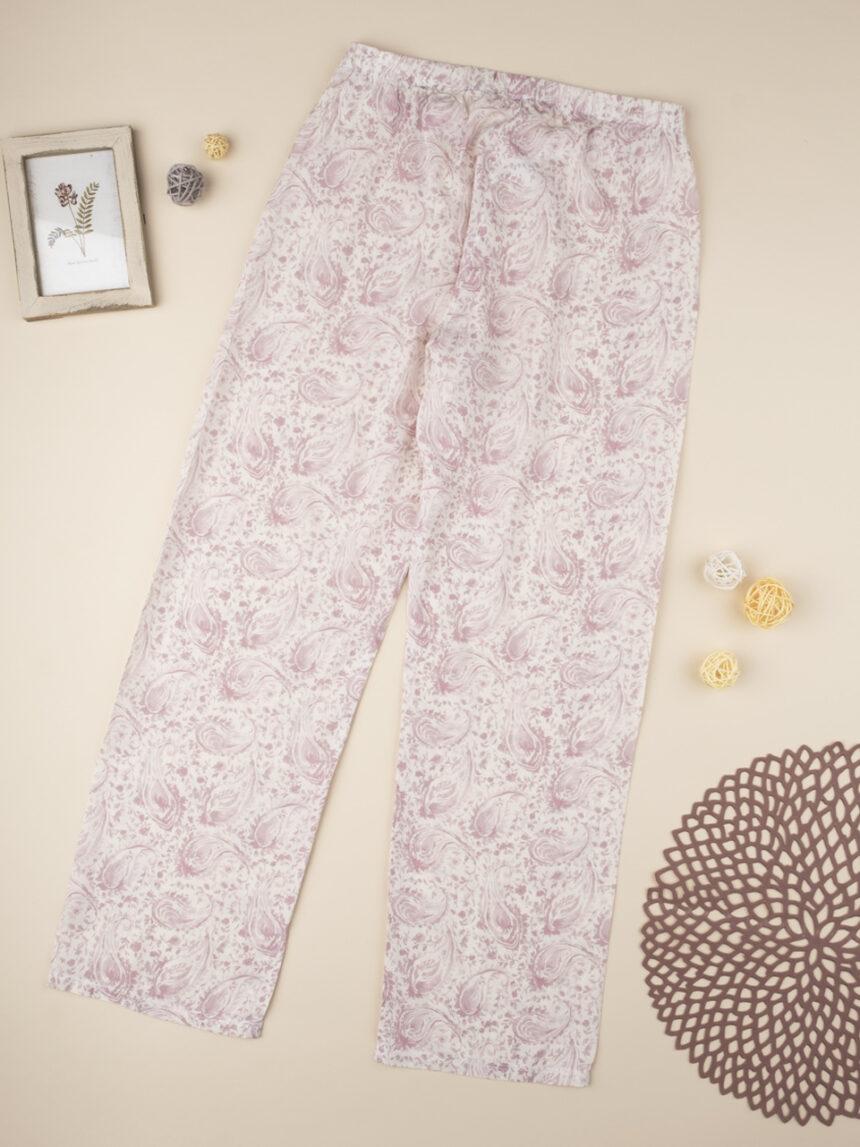 """Calça de pijama """"rosa gradiente"""" - Prénatal"""