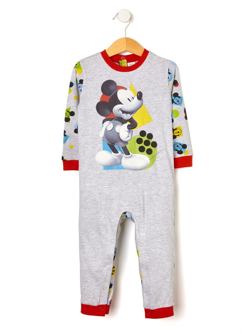 Pijama com estampa maxi mickey mouse - Prénatal