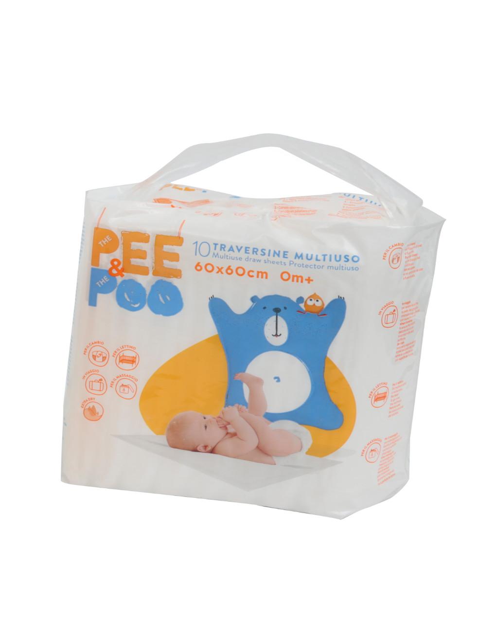 O xixi e o cocô traversina 60x60 - The Pee & The Poo