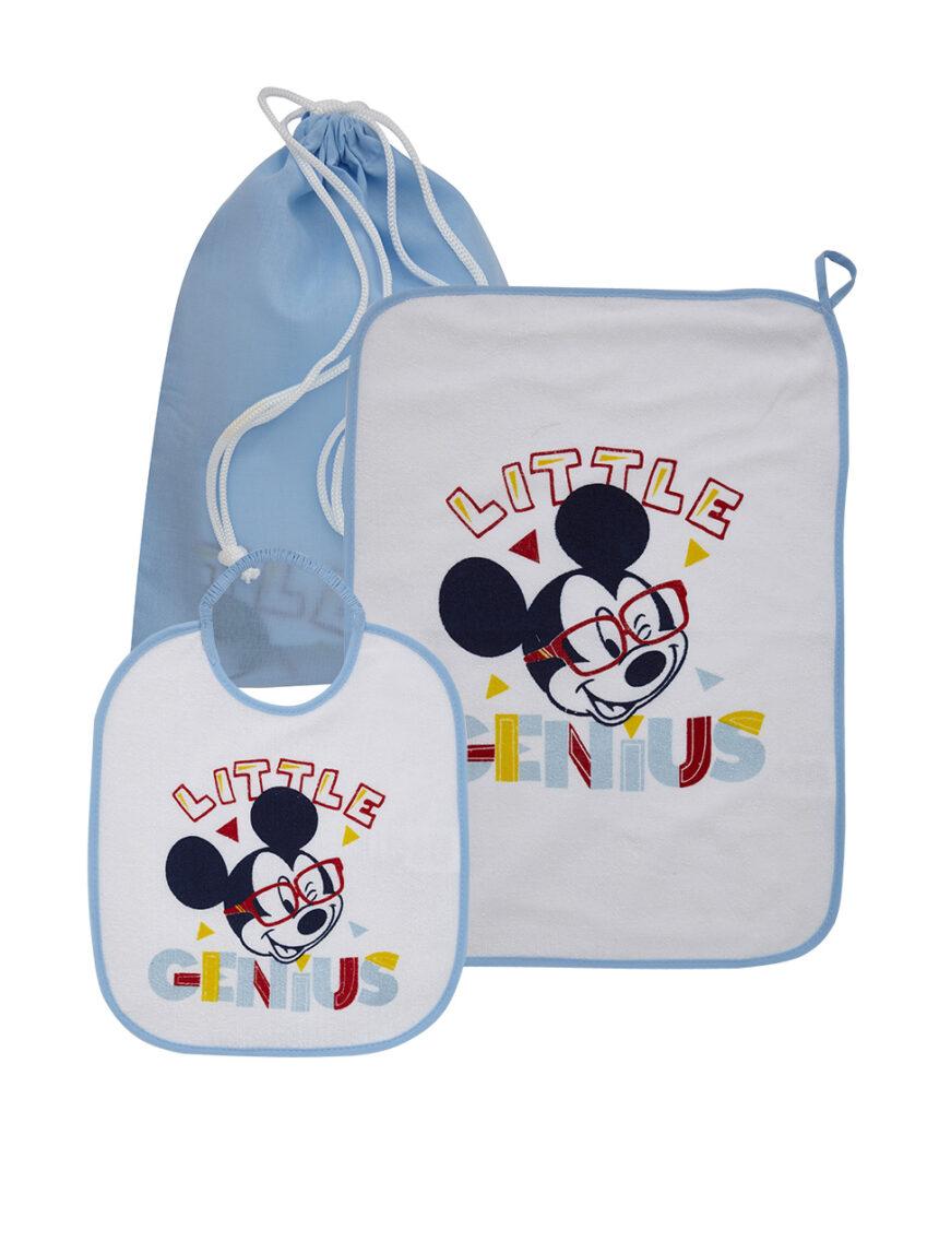 Conjunto de 3 peças para jardim de infância com estampa de mouse mickey - Prénatal