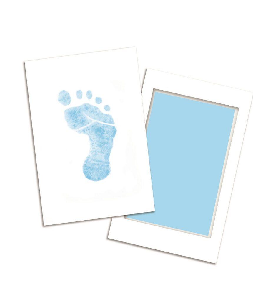 Almofada de tinta azul de toque limpo - Pearhead