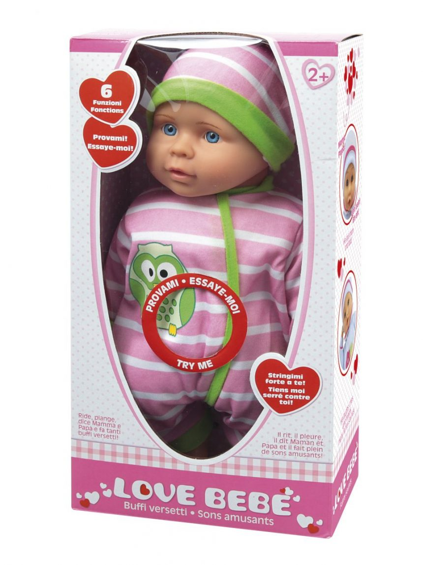 Love bebe '- o bebê faz versos engraçados - Love Bebè