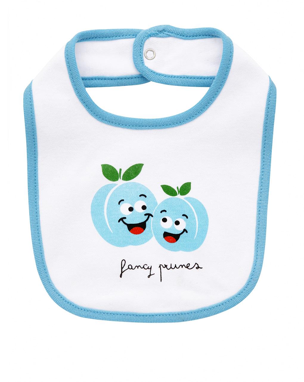Babete com estampa de frutas - Prénatal