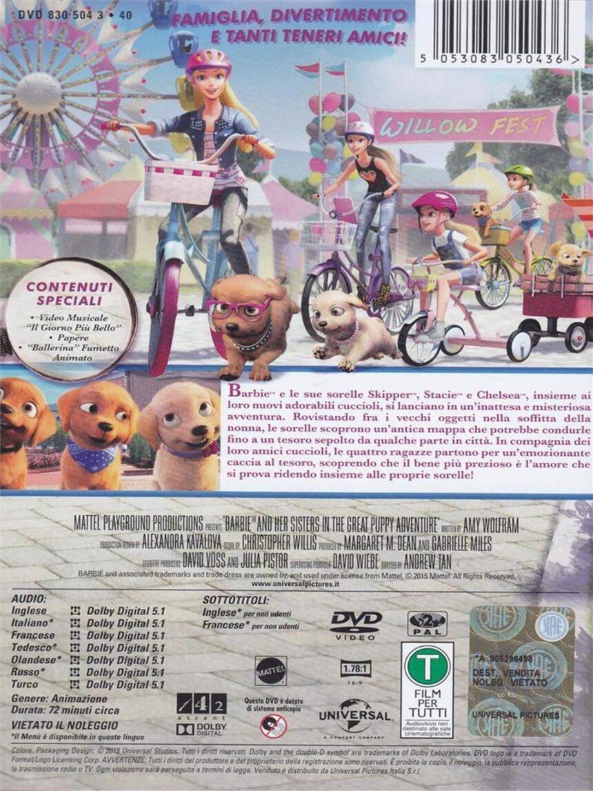 Dvd barbie e a queridinha dos cachorrinhos - Video Delta