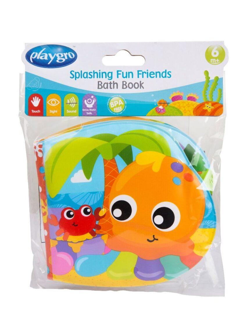 Divertido livro de banho para amigos - Playgro