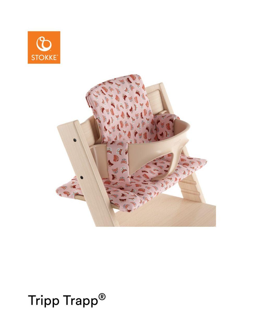 Tripp trapp® cuscino - raposa rosa - Stokke
