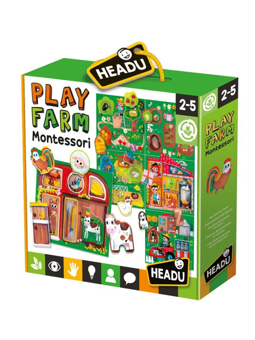 Headu - bebê brinquedo fazenda montessori - Headu