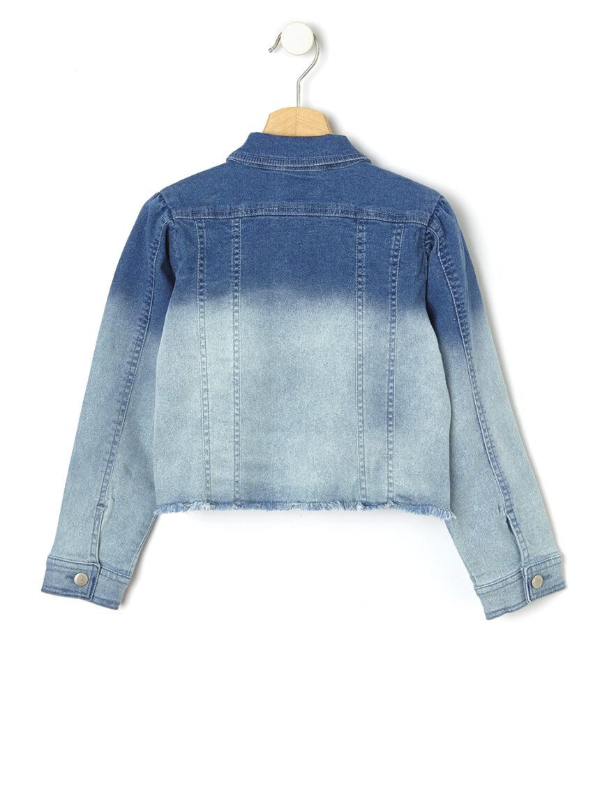 Jaqueta jeans com coração - Prénatal