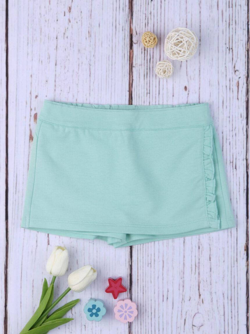 Shorts tipo saia aqua - Prénatal