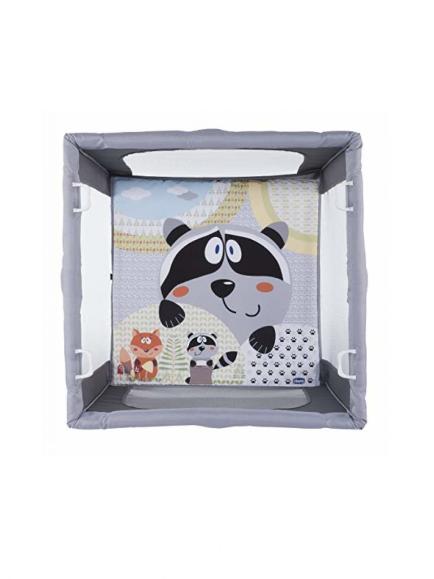 Urso de mel aberto caixa quadrada dobrável - Chicco
