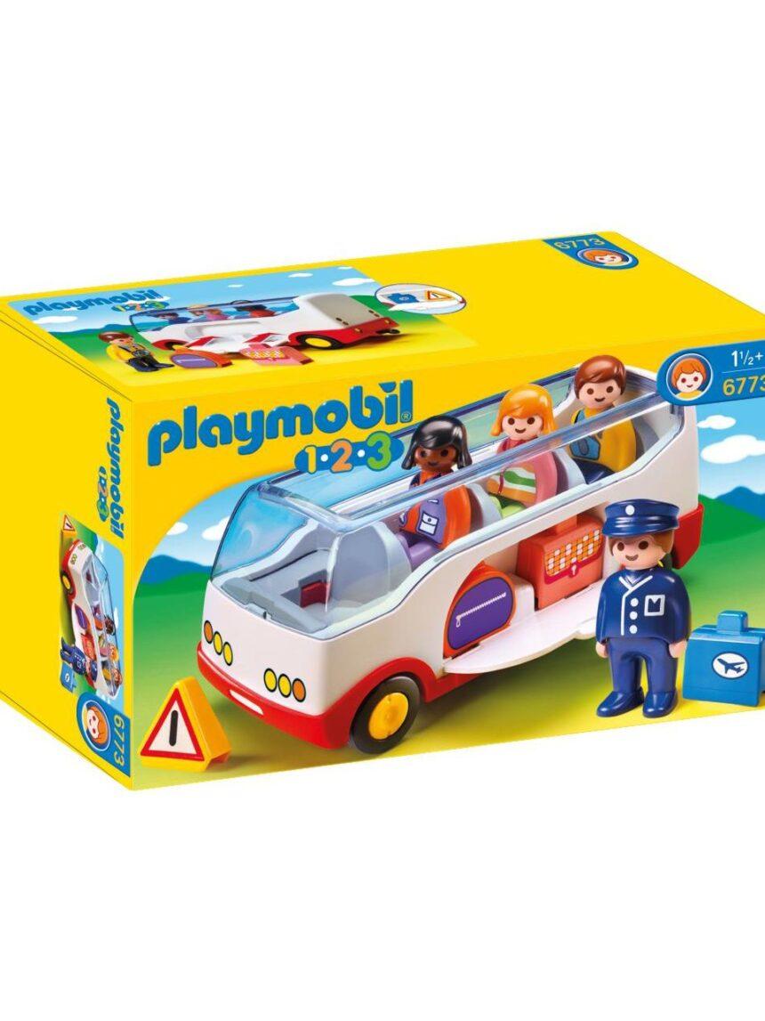 Playmobil - ônibus 1.2.3 - Playmobil