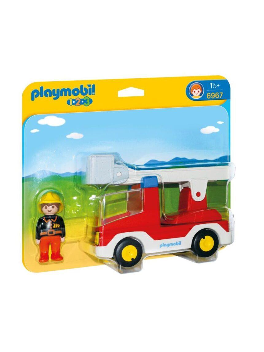 Playmobil - escada de bombeiros 1.2.3 - Playmobil