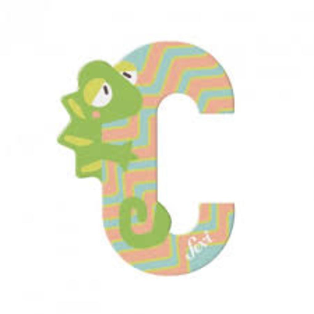 Camaleão letra c - Sevi