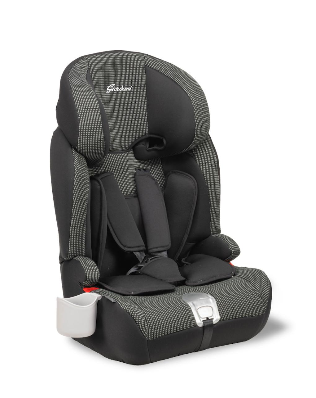 Cadeira auto giordani pegasus 2 isofix preta - Giordani