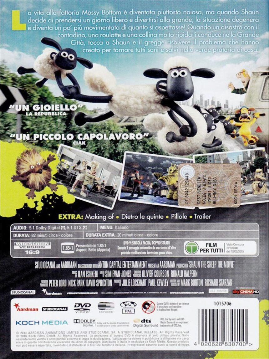 Dvd shaun, a vida das ovelhas - o filme - Video Delta