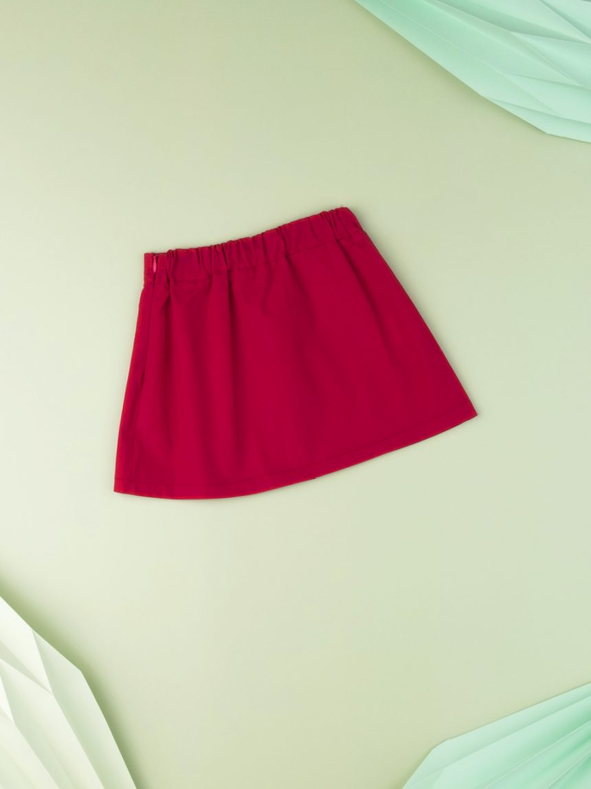 Vou pantalone bebê menina vermelha - Prénatal