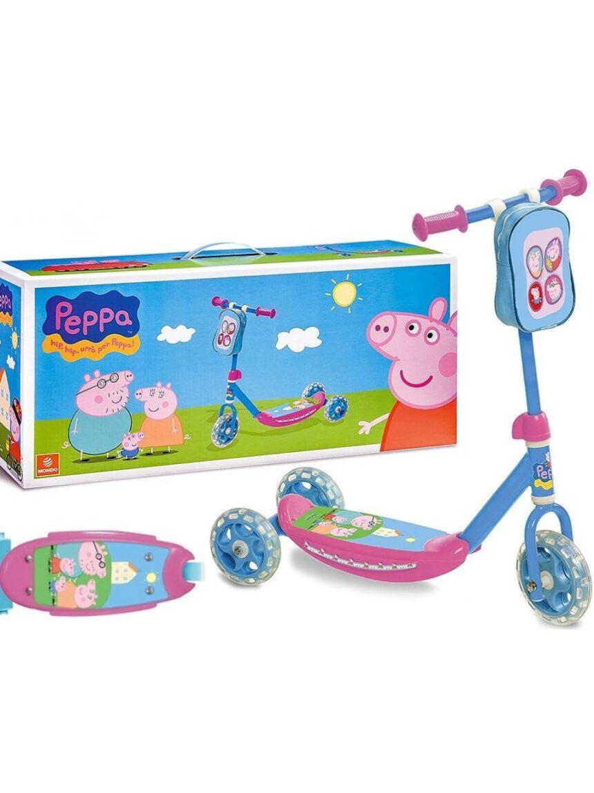 Minha primeira scooter peppa pig - Mondo, Peppa Pig