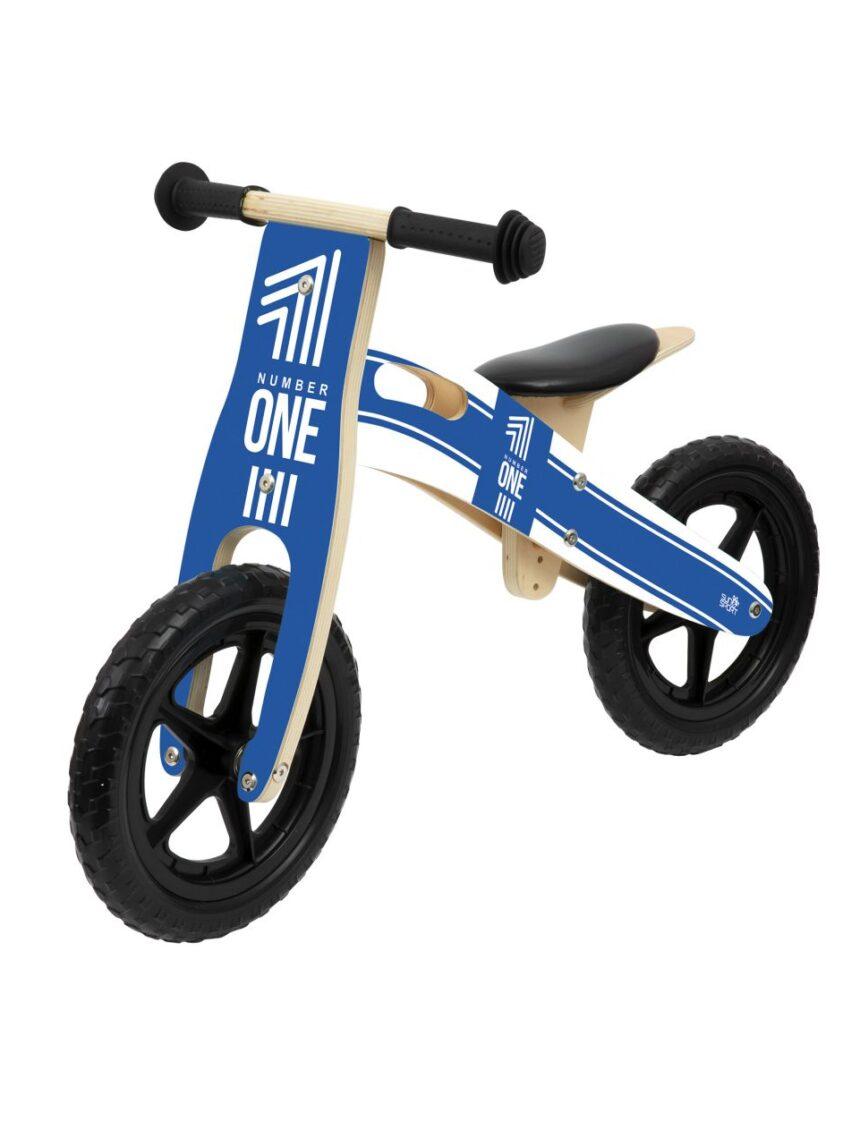 Sol e esporte - bicicleta de balanço de madeira para menino - Sun&Sport