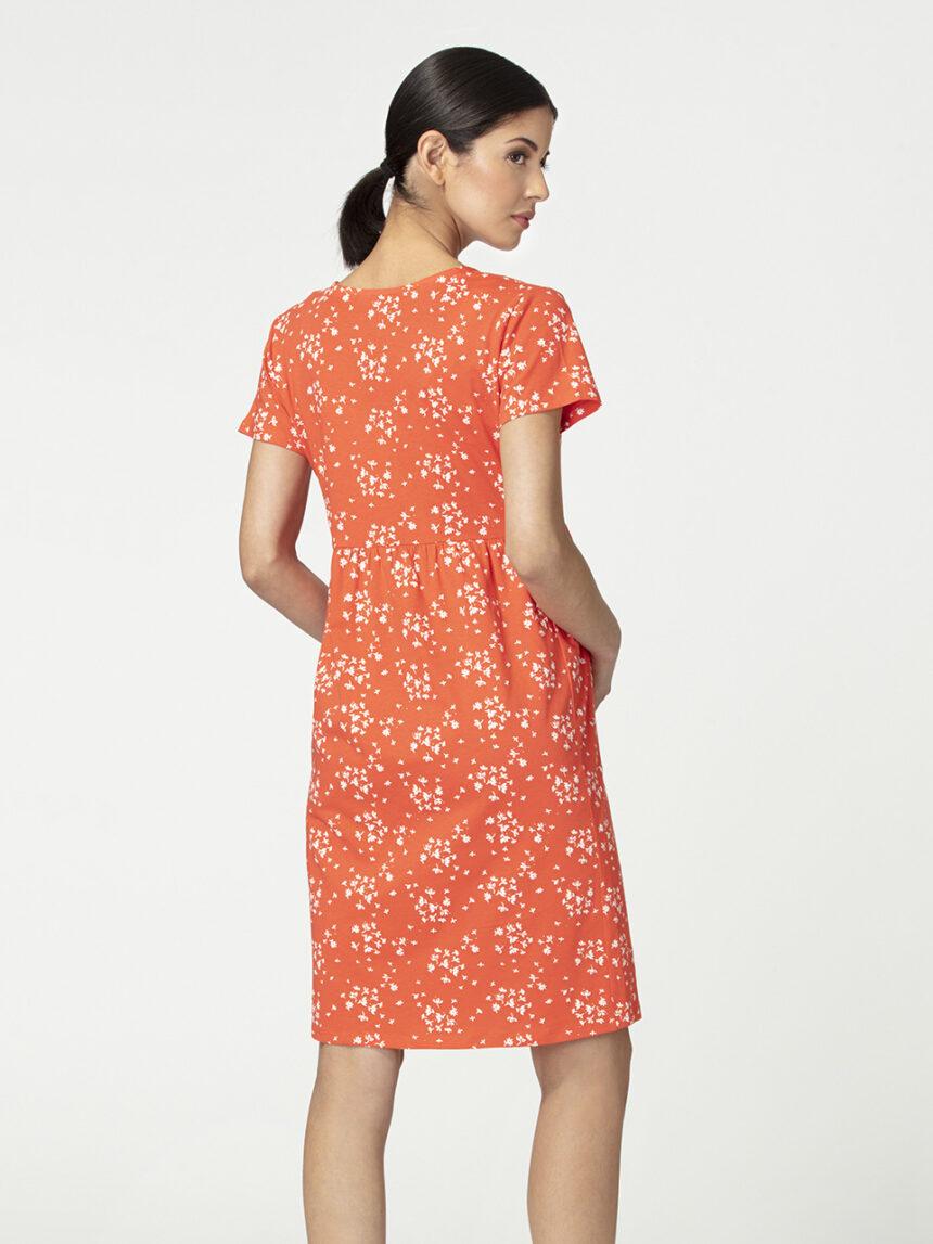 Vestido de amamentação para maternidade com padrão floral - Prénatal