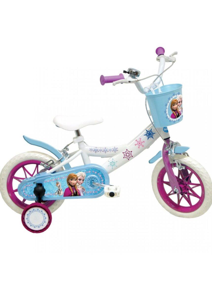 """Bicicleta 2 congelada 12 """"- deluxe - 3/5 anos de idade - Mondo"""