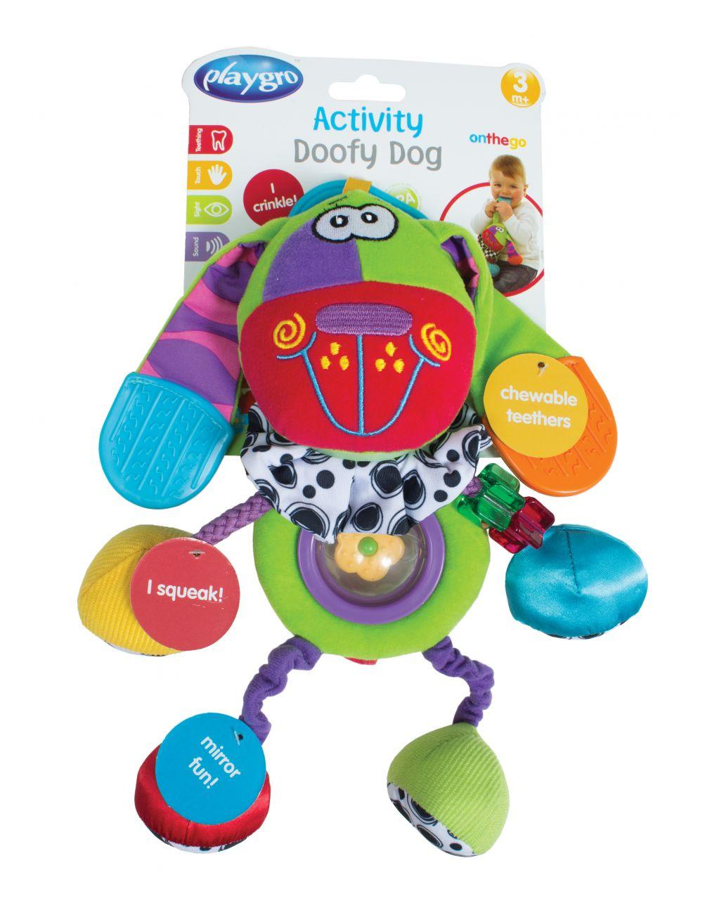 Playgro - cão doofy em atividade - Playgro