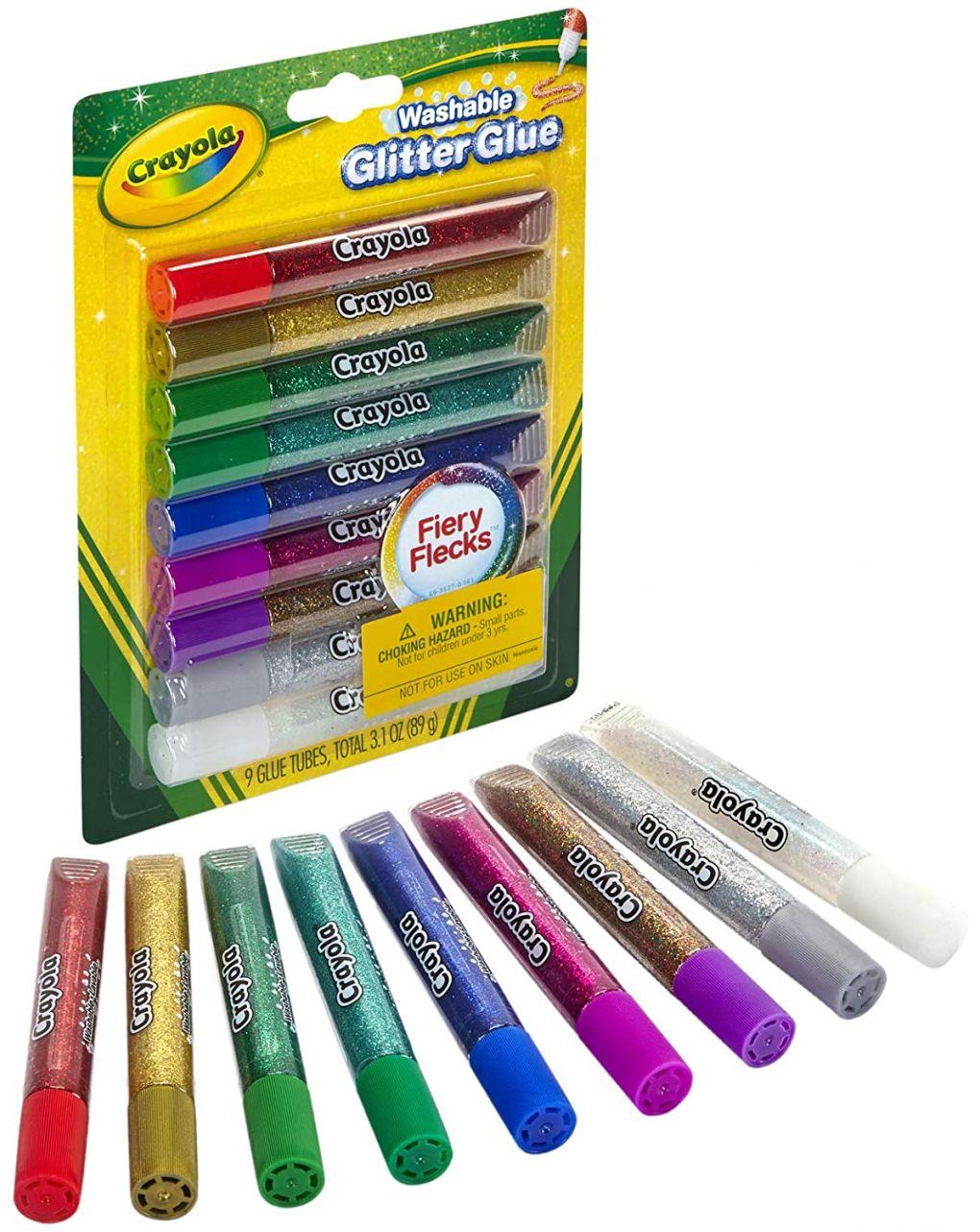 Crayola - 9 colas brilhantes - Crayola
