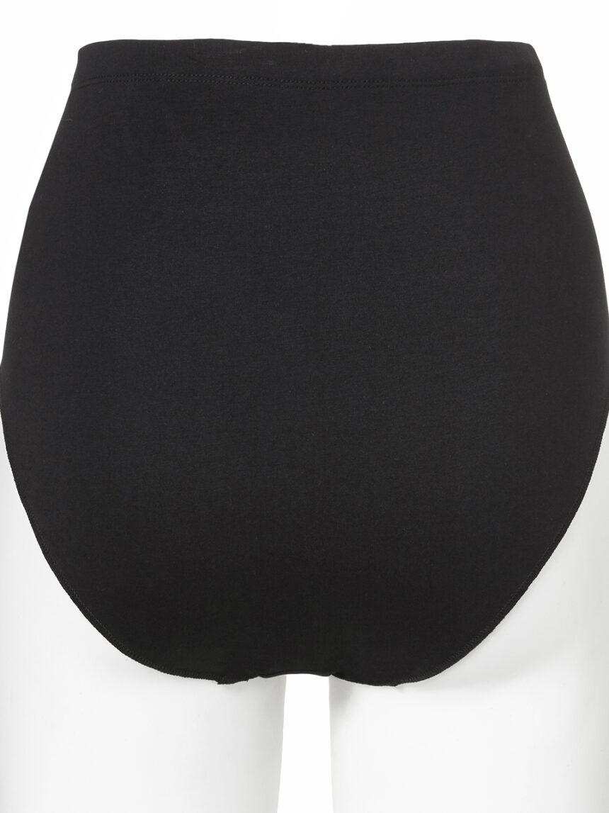 Cuecas de maternidade com cintura alta elástica ajustável - Prénatal