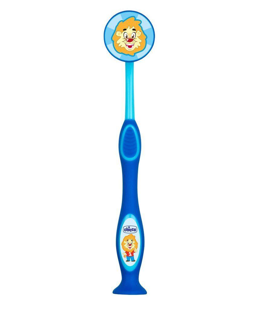 Escova de dentes azul 36m + - Chicco