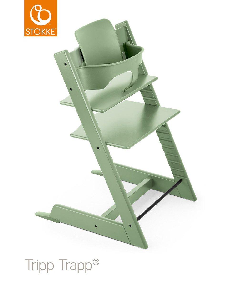 Conjunto bebê stokke® por tripp trapp® - verde musgo - Stokke