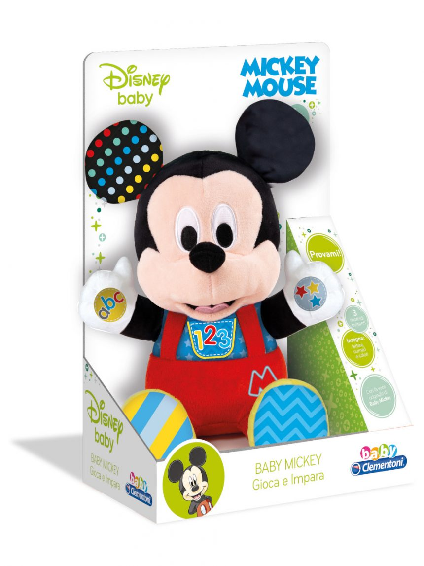 Disney baby - o bebê mickey brinca e aprende - Clementoni