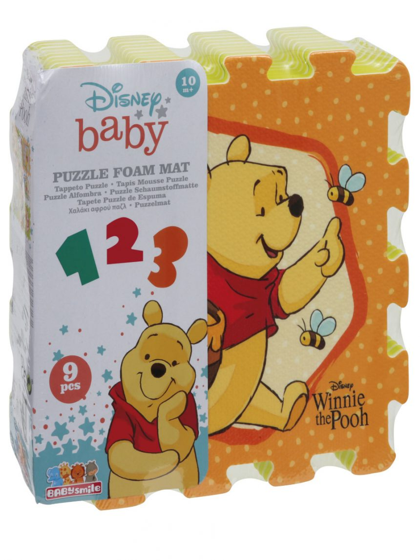 Sorriso de bebê - quebra-cabeça winnie the pooh tappeto macio - Baby Smile