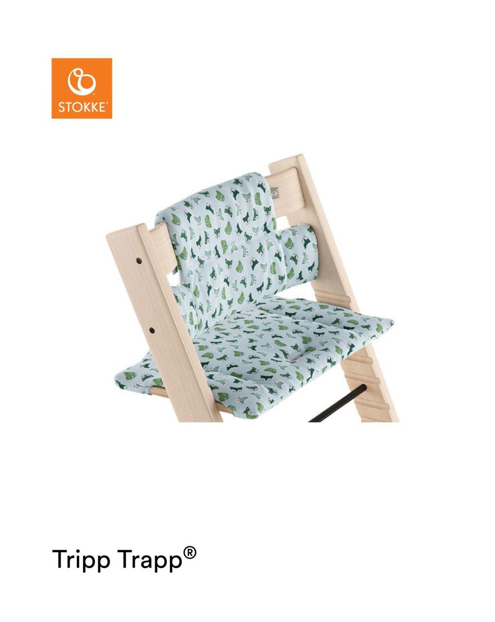 Tripp trapp® cuscino - raposa blu - Stokke
