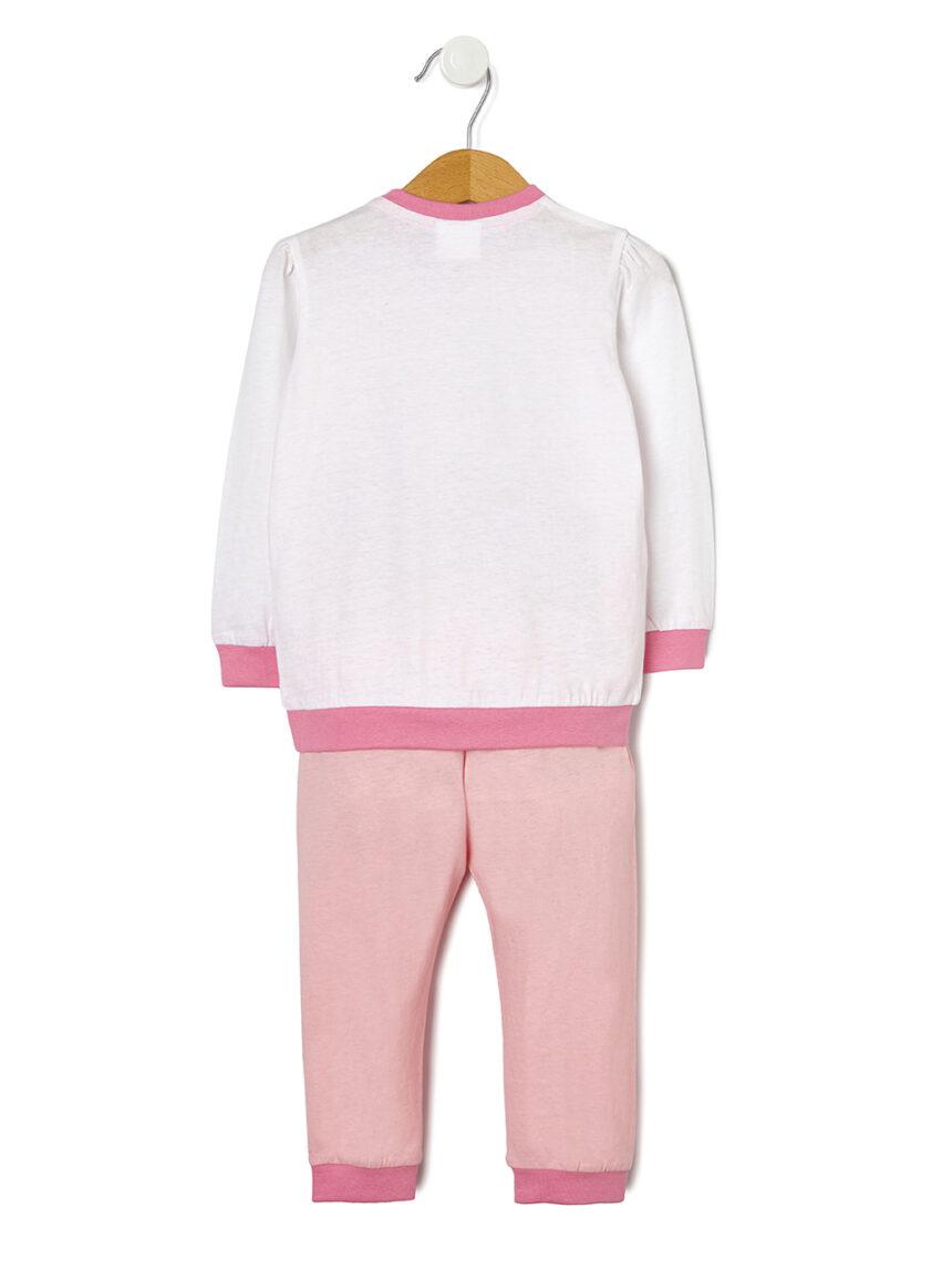 Pijama com estampa de mouse - Prénatal