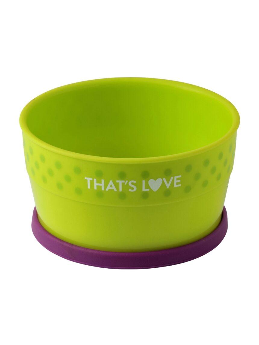 Placa profunda com anel de silicone - That's Love