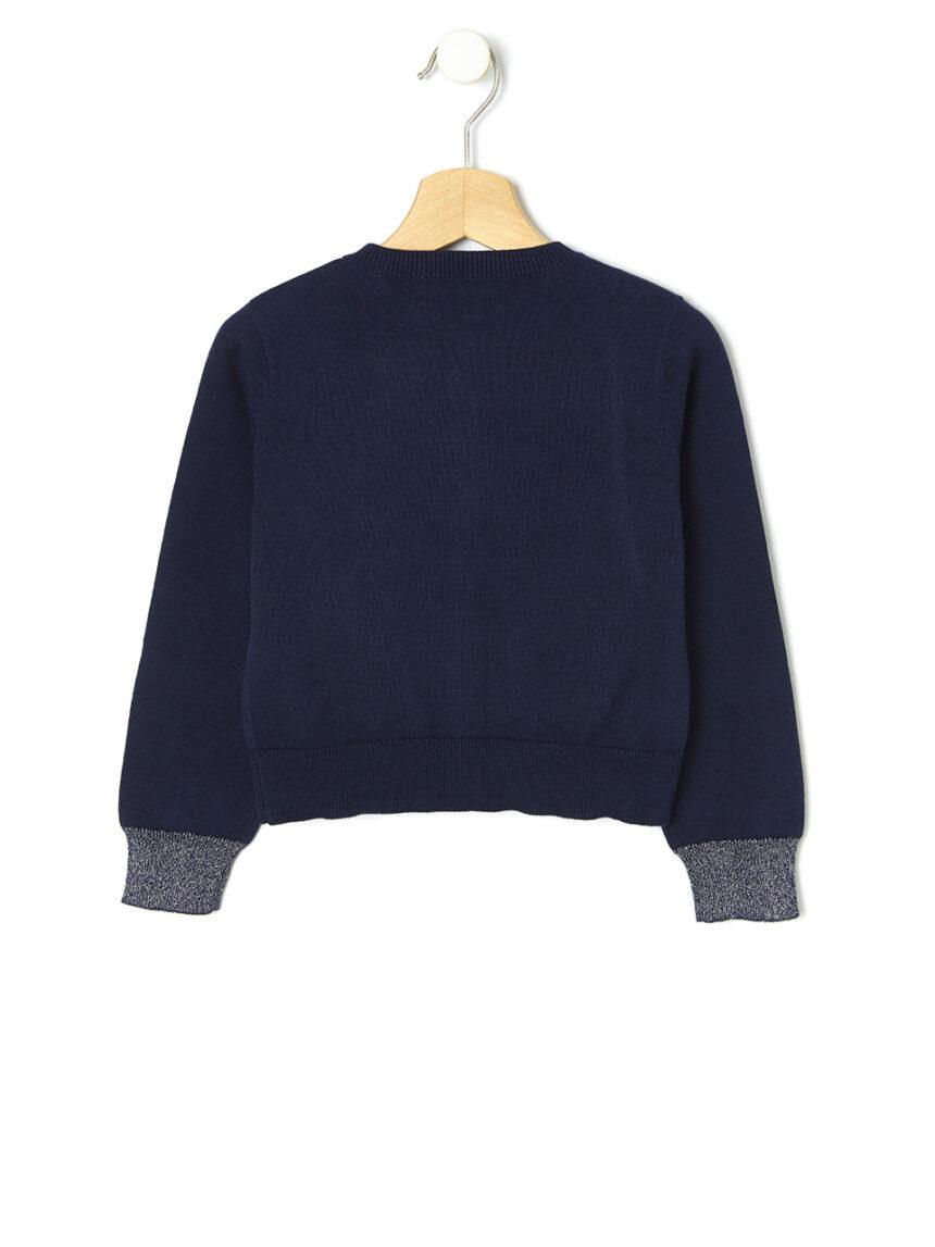 Cardigan tricot com inserções de lurex - Prénatal