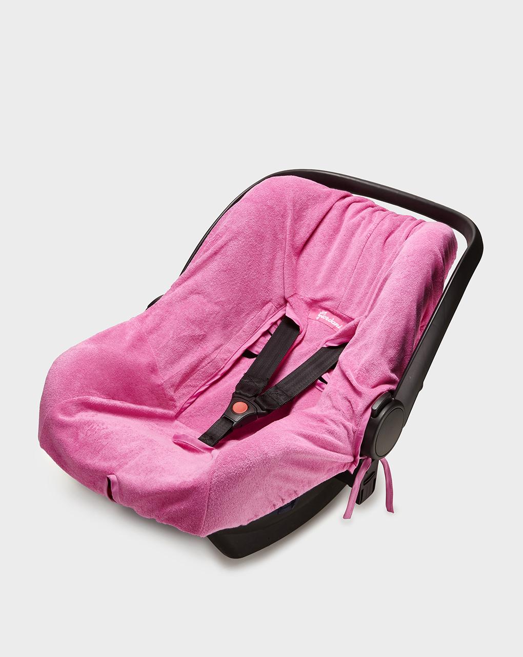 Capa para assento de carro em esponja rosa gr. 0 + - Giordani