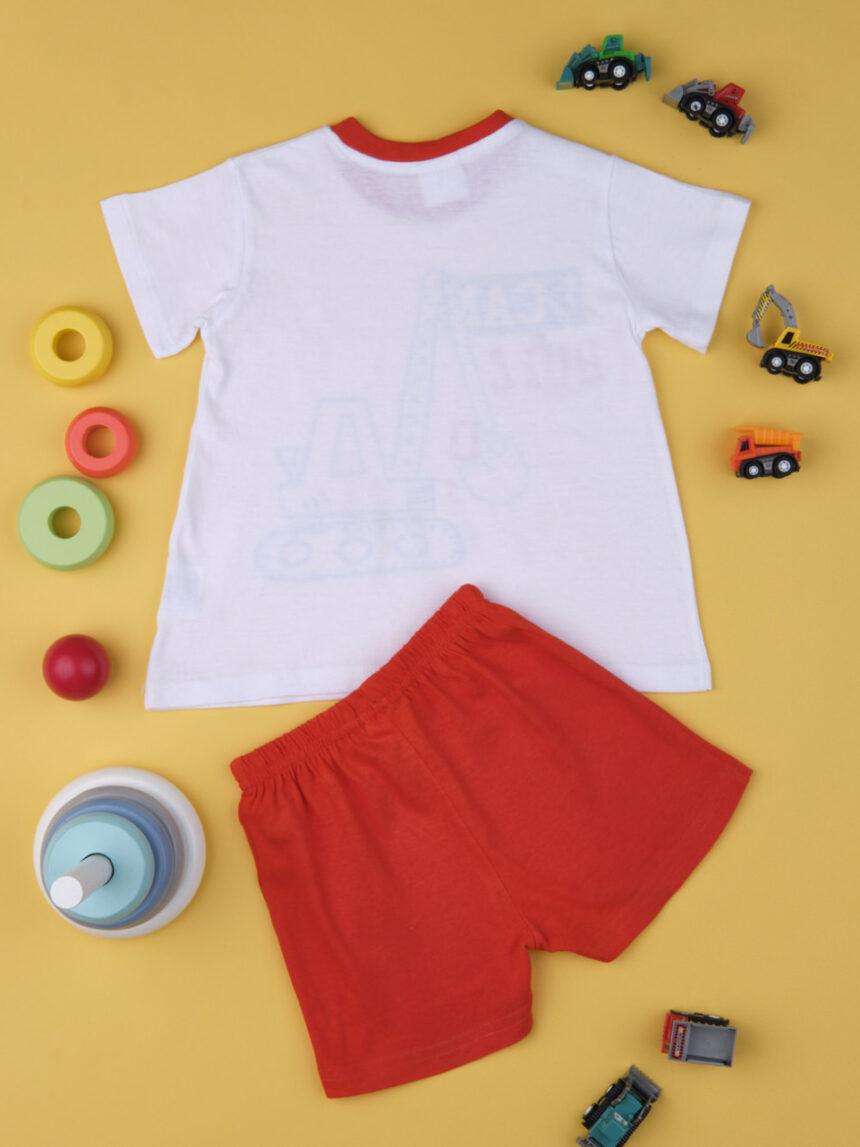 "Pacote de 2 pijamas de bebê ""digger"" - Prénatal"
