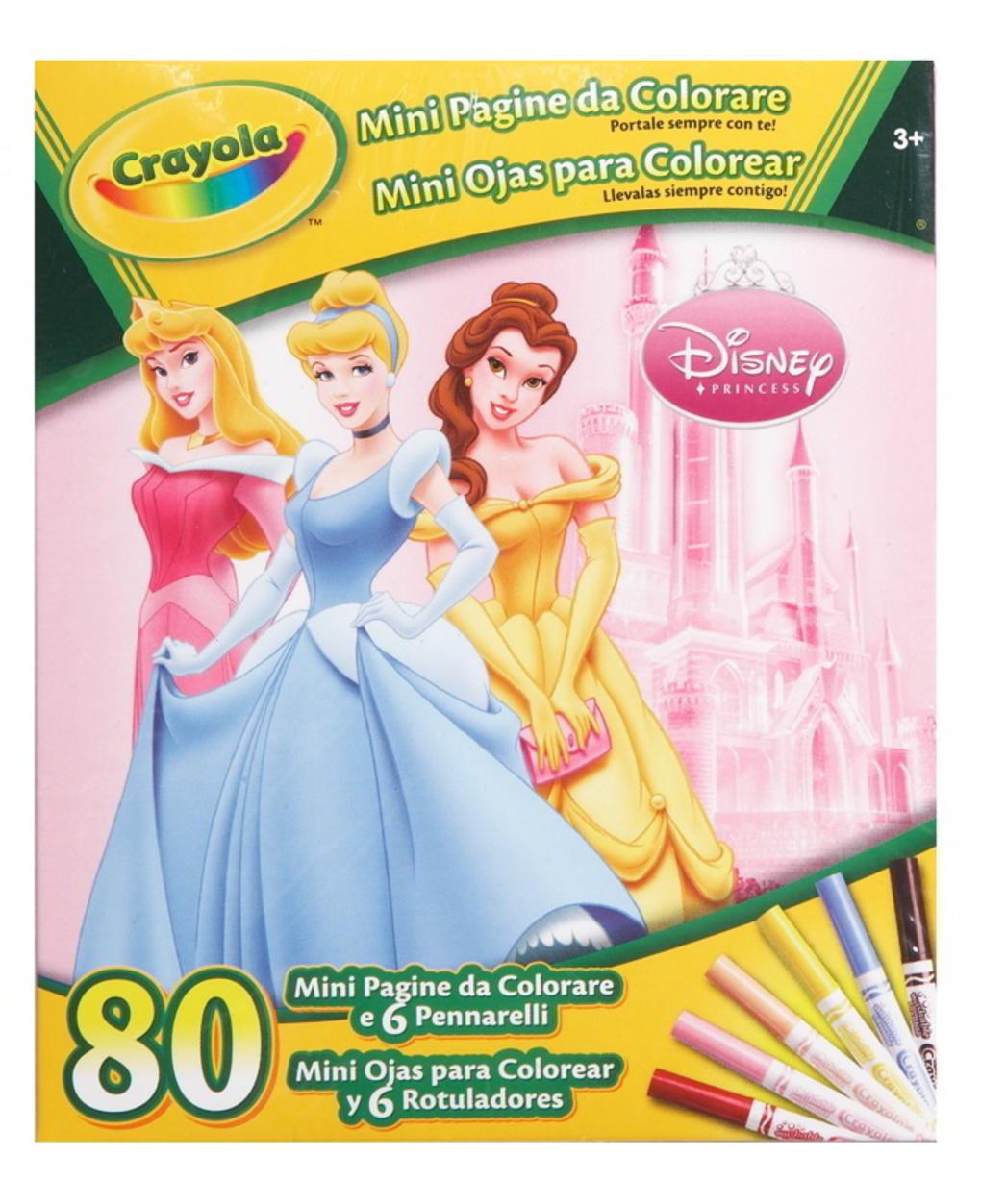 Crayola - mini páginas da disney - Crayola