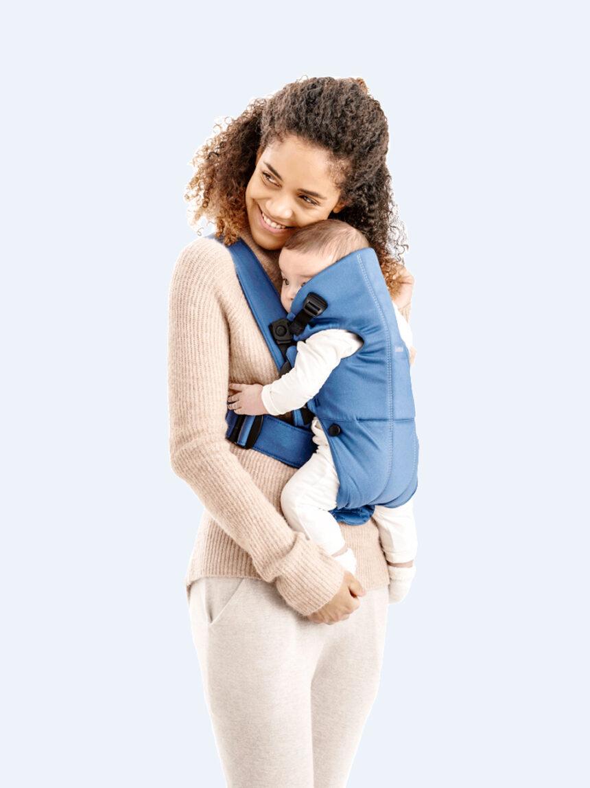 Mini porta-bebês vintage de algodão índigo - Baby Bjorn