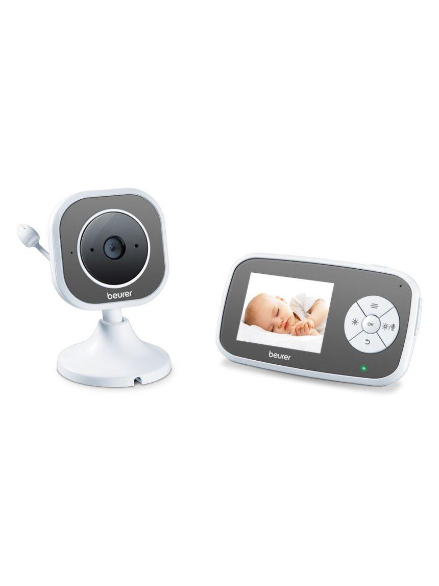 Beurer by 110 monitor de bebê de vídeo wi-fi com função de visão noturna e modo eco - Beurer