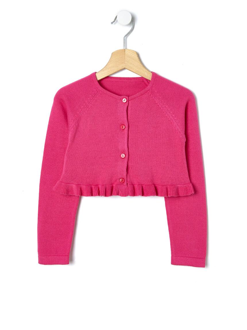 Bolero tricot com rouches - Prénatal