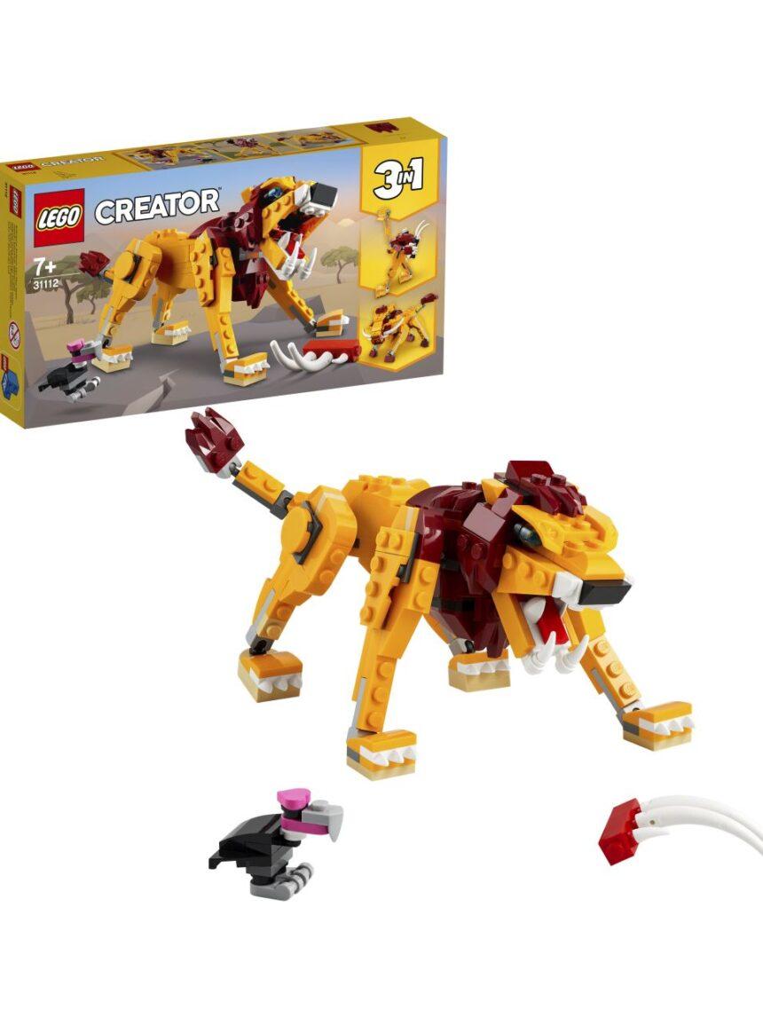 Criador de lego - leão selvagem - 31112 - LEGO