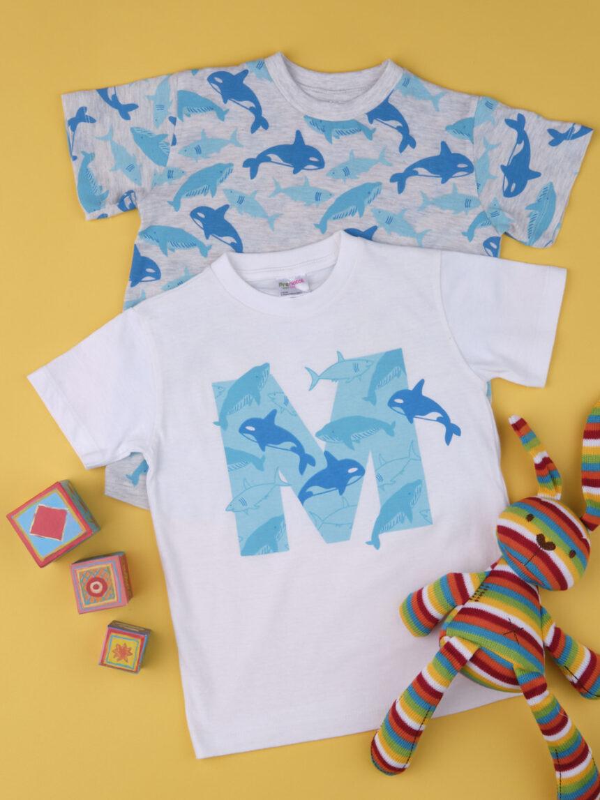 """Pacote de 2 roupas de bebê """"pequeno golfinho"""" - Prénatal"""