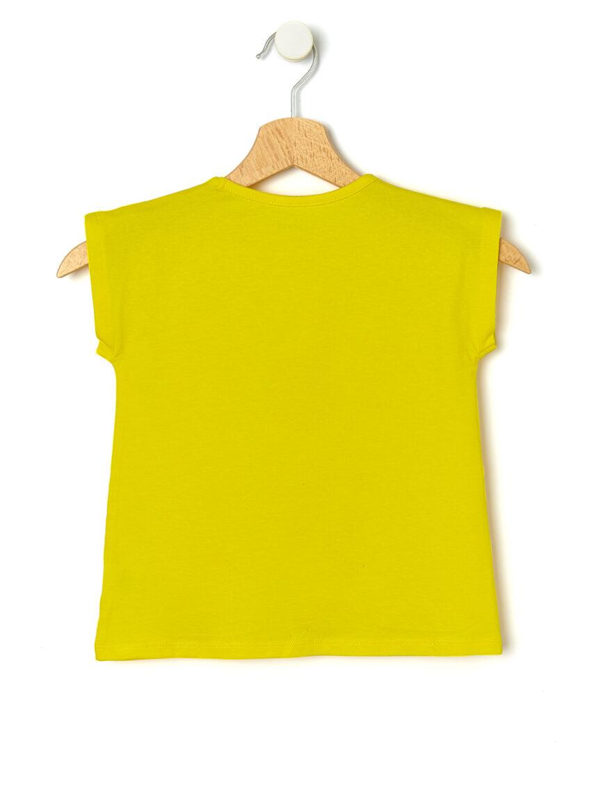 Camiseta com margaridas aplicadas - Prénatal