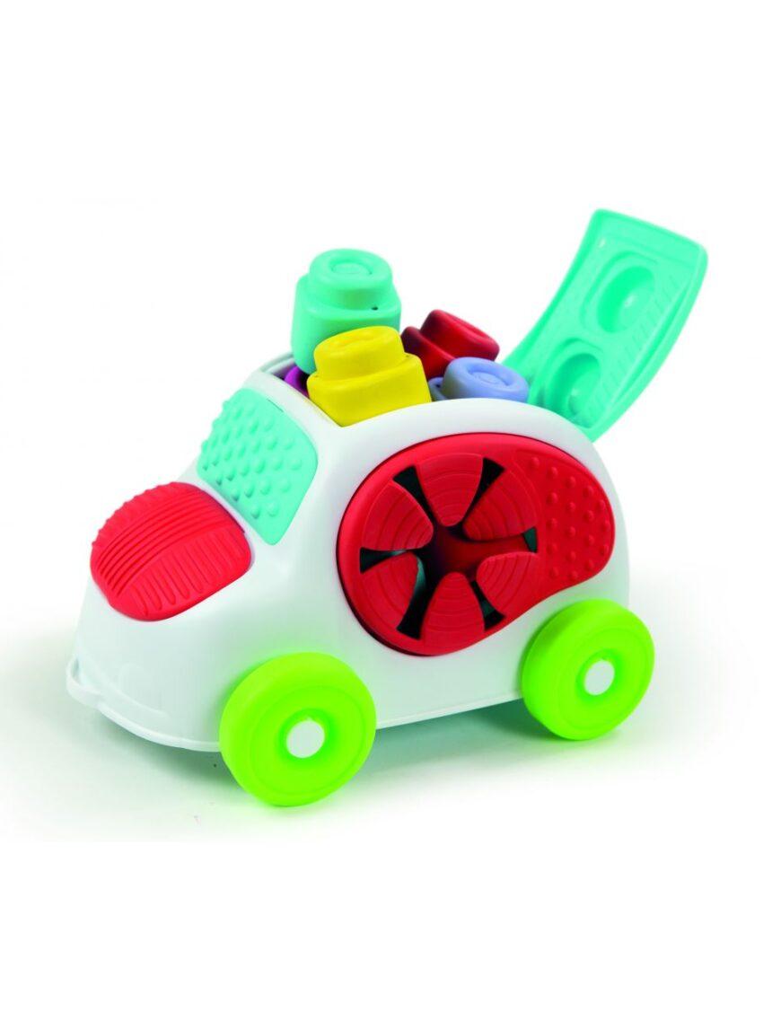 Clemmy - toque, descubra e dirija um carro sensorial - Clementoni