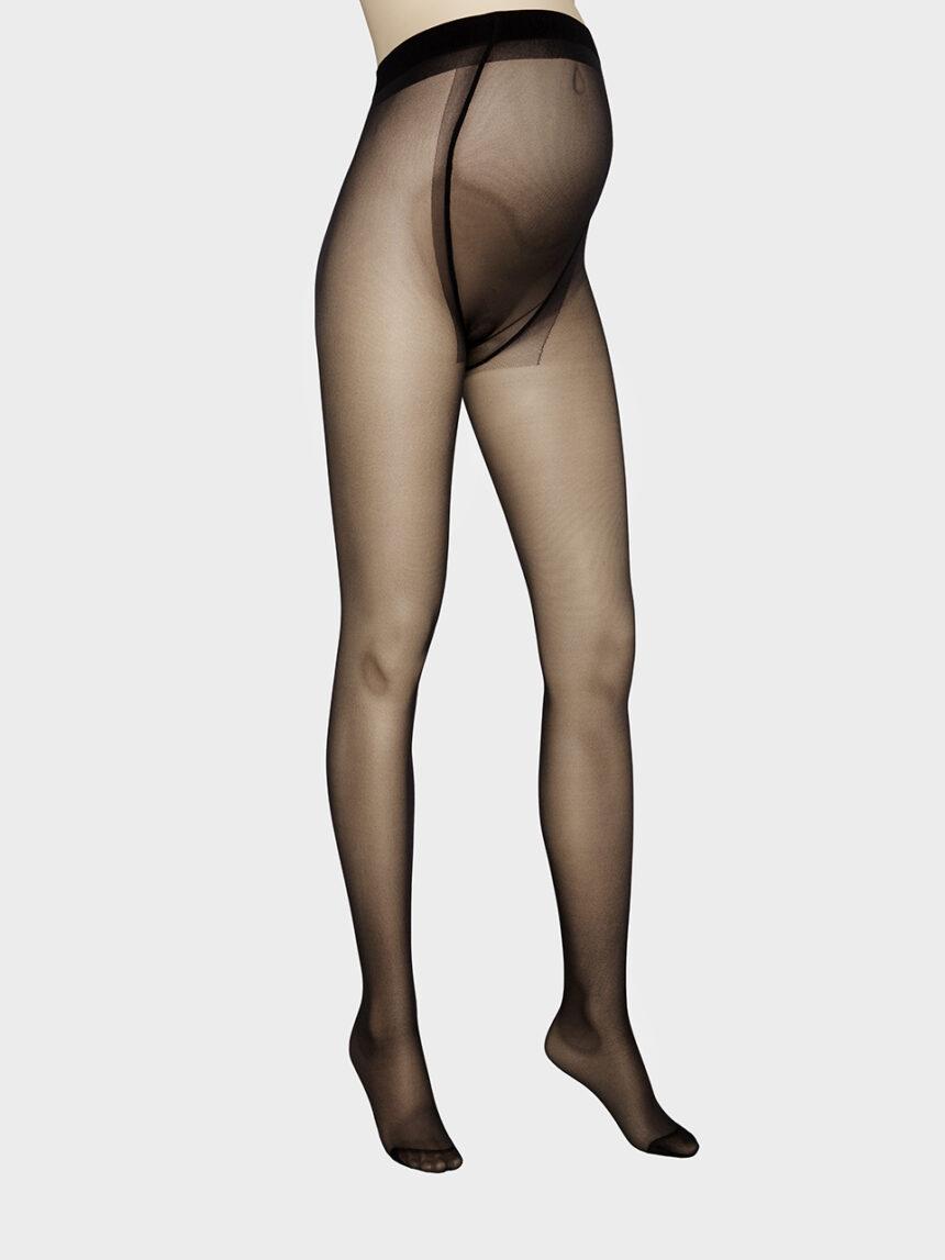 Meia-calça preta multi-fibra 20 denier - Prénatal